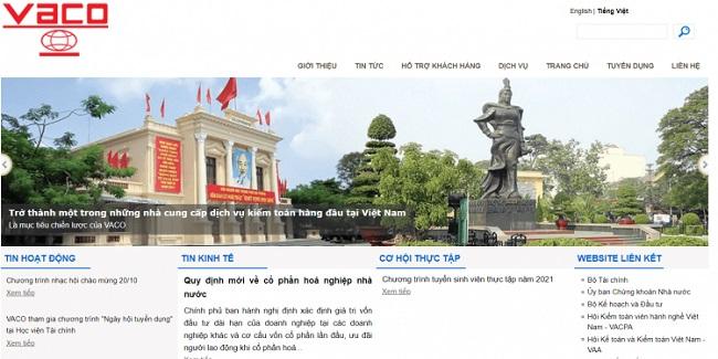Công Ty TNHH Kiểm Toán VACO – Công Ty Kế Toán Hà Nội Uy Tín