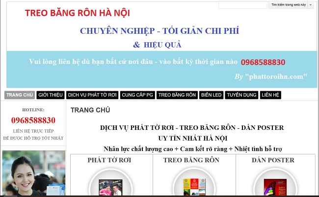 Công ty TNHH dịch vụ truyền thông Linknew - dịch vụ phát tờ rơi Hà Nội uy tín