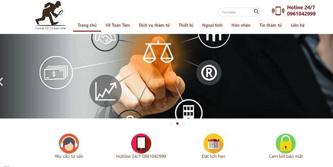Toàn Tâm - Công ty dịch vụ thám tử Hà Nội