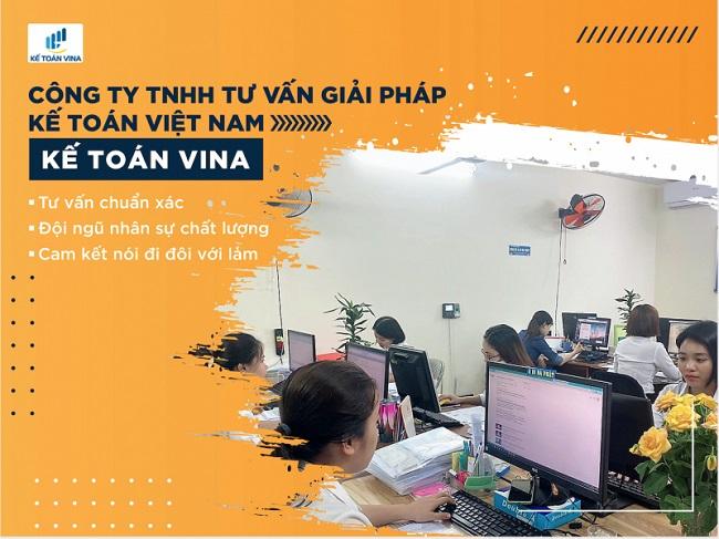 Công ty TNHH Tư Vấn Giải Pháp Kế Toán Việt Nam - Dịch Vụ Kế Toán Hà Nội Vina