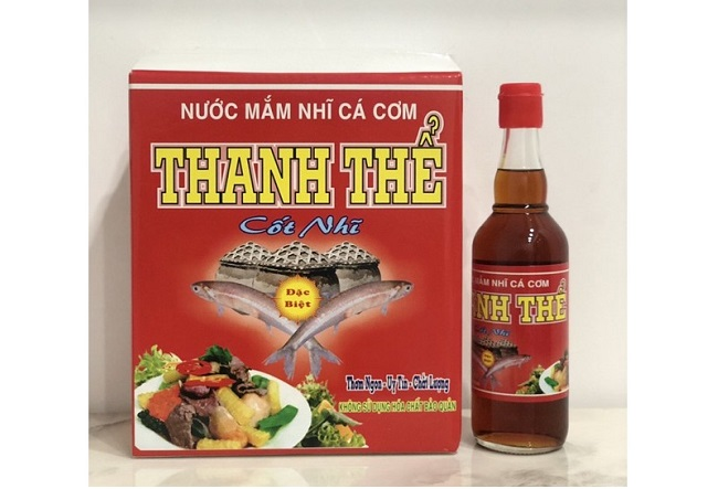 Nước mắm Thanh Thể - Hãng nước mắm Phan Thiết số 1