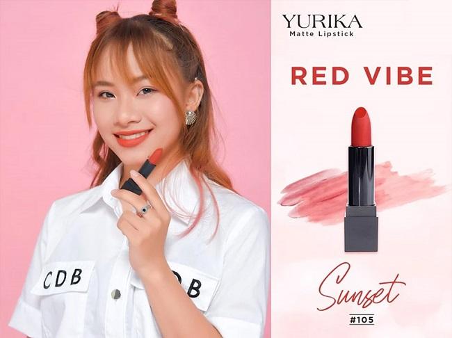 Son lì Nhật Bản Yurika Matte Lipstick