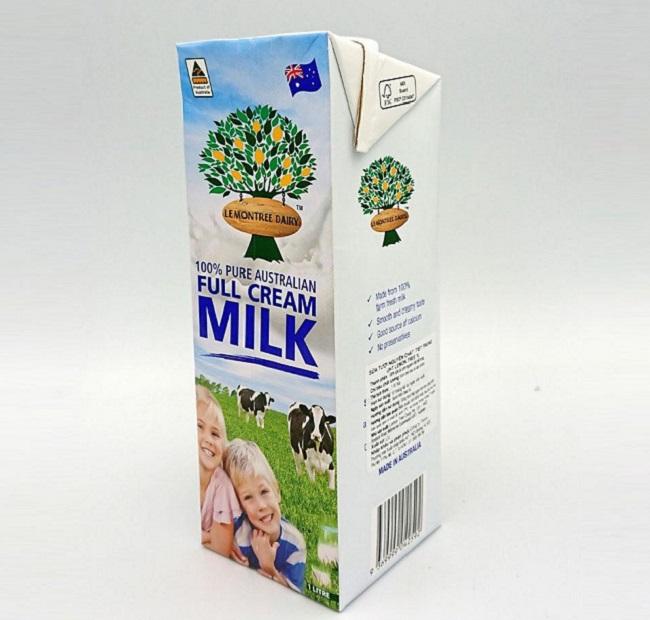 Sữa tươi nguyên kem tiệt trùng Lemontree Dairy