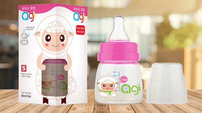 Bình sữa Agi - Thương hiệu bình sữa Hàn Quốc