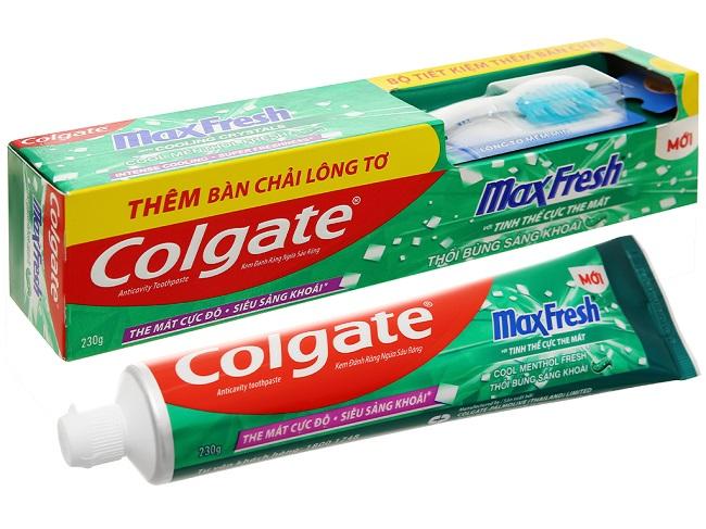 kem đánh răng Colgate – thương hiệu kem đánh răng tốt nhất thế giới