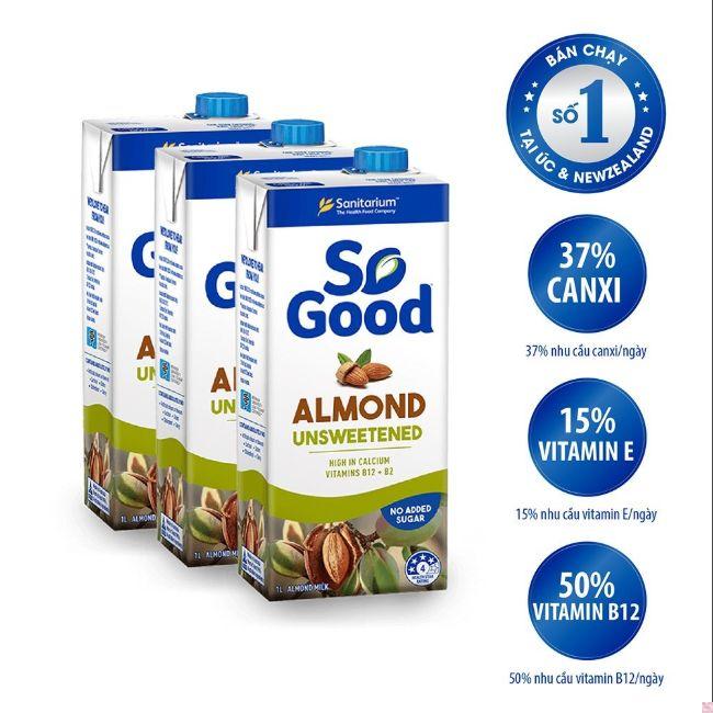 Sữa hạt So Good nhập khẩu từ Úc