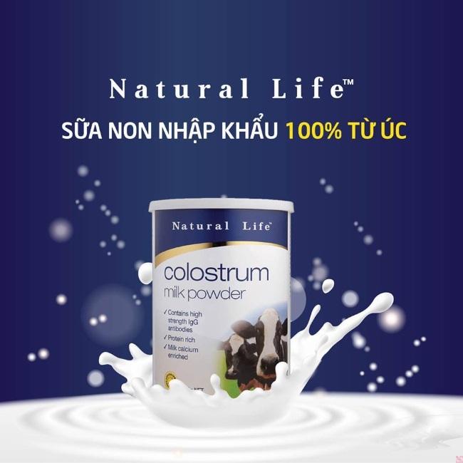 Sữa non Natural Life là dòng sữa tươi của Úc nổi tiếng