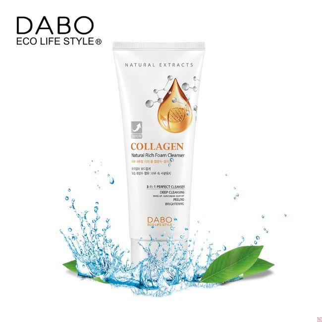 Sữa rửa mặt Dabo Foam Cleanser Collagen Hàn Quốc