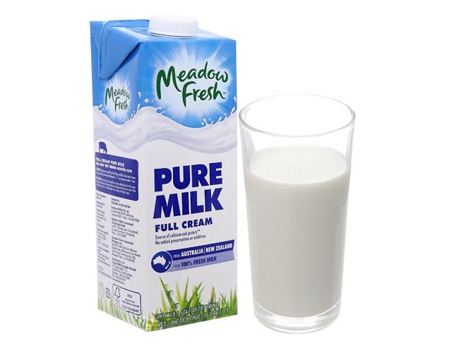 Sữa tươi tiệt trùng Meadow Fresh của Úc