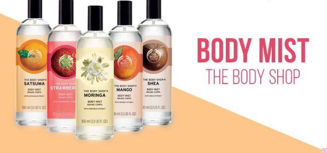 Bodymist The Body Shop