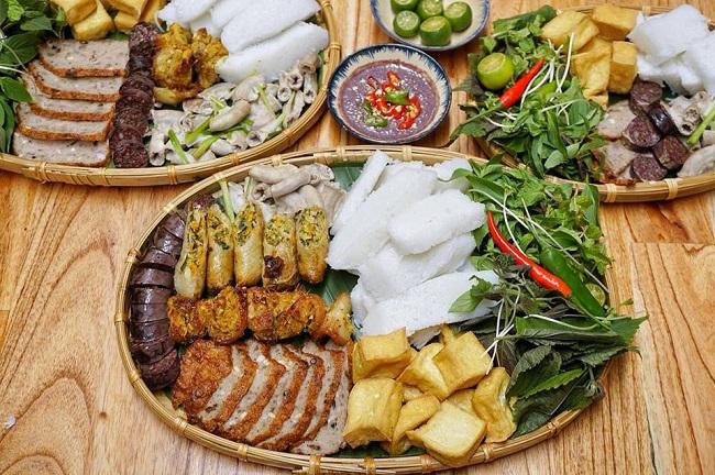 Bún Đậu Mẹt - quán ăn tối ở Hà Nội